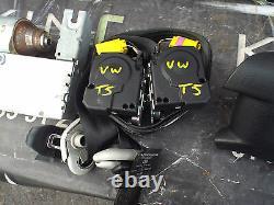 Vw T5 Transporter/caravelle 2003-2009 Air Bag Kit Seat Belt Driver Passanger