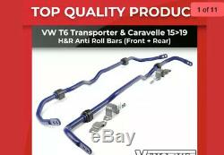 Vw T6 Transporter & Caravelle 2015+ H&r Anti Roll Bars Kit Front & Rear Upgrade