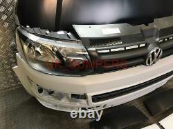 Vw Transporter Caravelle T5 To T5.1 Facelift Front End Conversion Kit In Primer