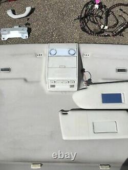 Vw t5 transporter Caravelle Front Headliner Headlining Full Kit Sun Visors 0310