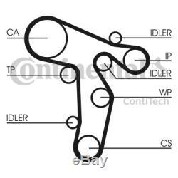 Wasserpumpe + Zahnriemensatz CONTINENTAL CTAM CT1139WP6 für AUDI SEAT SKODA VW