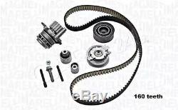 Water Pump & Timing Belt Kit Fits VW SKODA SEAT AUDI Amarok 30-50 Eos Cc 04-16