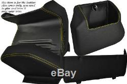 Yellow Stitch Four Piece Lower Dash Kit Covers Fits Vw T4 Transporter Caravelle