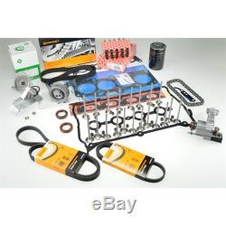 Zylinderkopfdichtung Zahnriemen Steuerketten Ventile Satz Audi A4 A6 1,8T 110 k